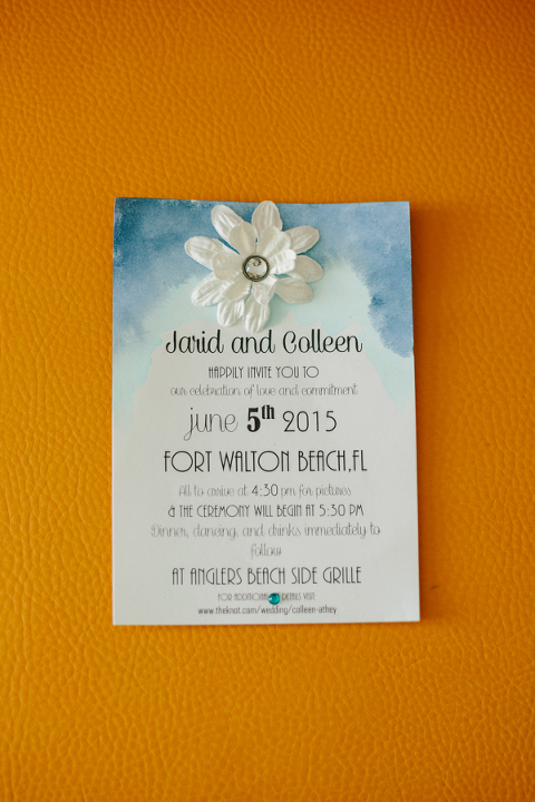 colleen and jarid wedding in fort walton beach Wedding Invitations Fort Walton Beach Fl i couldn't be happier for your family and your happily ever after i hope your wedding was as beautiful as you always dreamt it would be! wedding invitations fort walton beach fl