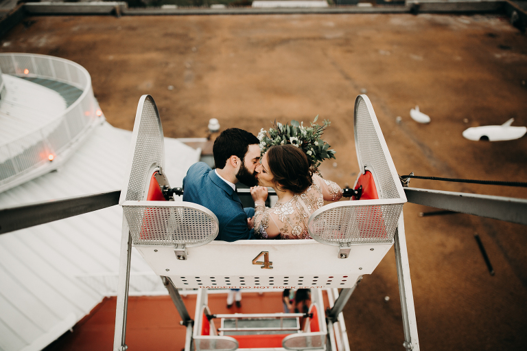 City Museum Wedding